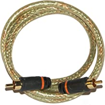 6' GoldX PlusSeries GXAV-DC-06 S/PDIF (M) to (M) Coaxial Digital Audio Cable w/24K Gold Plated Connectors