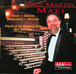 Paul-Martin Maki Plays the Organ at the Church of the Heavenly Rest in New York City