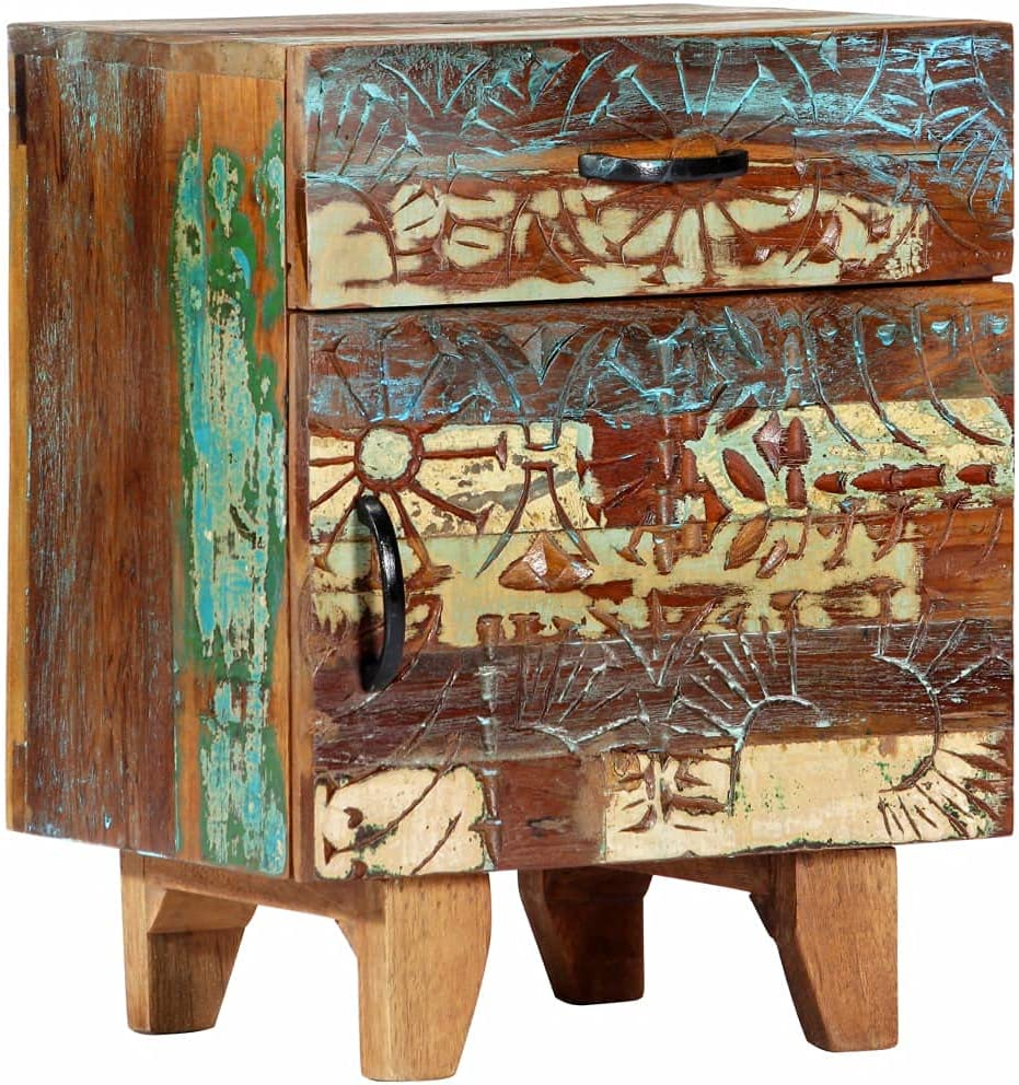 Nightstand with Drawer and Phoenix Mall Doors Table Hand End Pat High quality new Carved