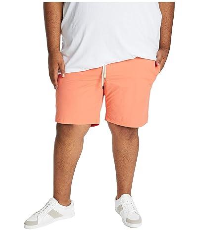 Johnny Bigg Big Tall Plain Swim Shorts (Orange) Men