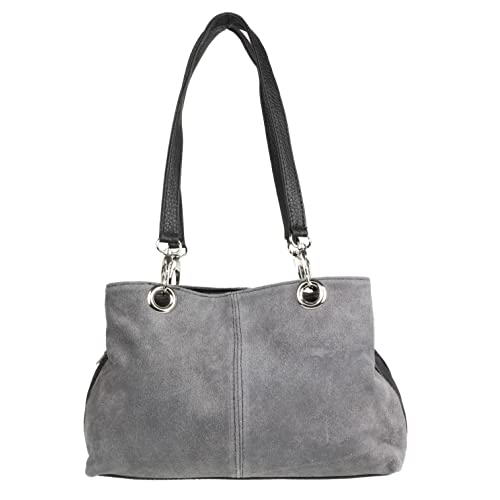 dde97a195d Girly HandBags Italian Suede Leather Shoulder Bag