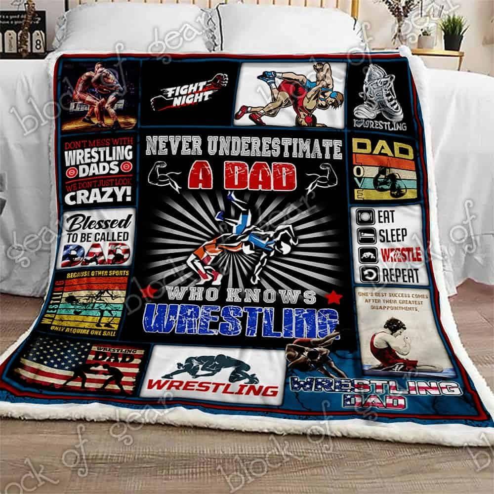 Reservation Wretling Dad Sofa Throw Blanket Decor Bedspread Ultra Home Portland Mall Soft