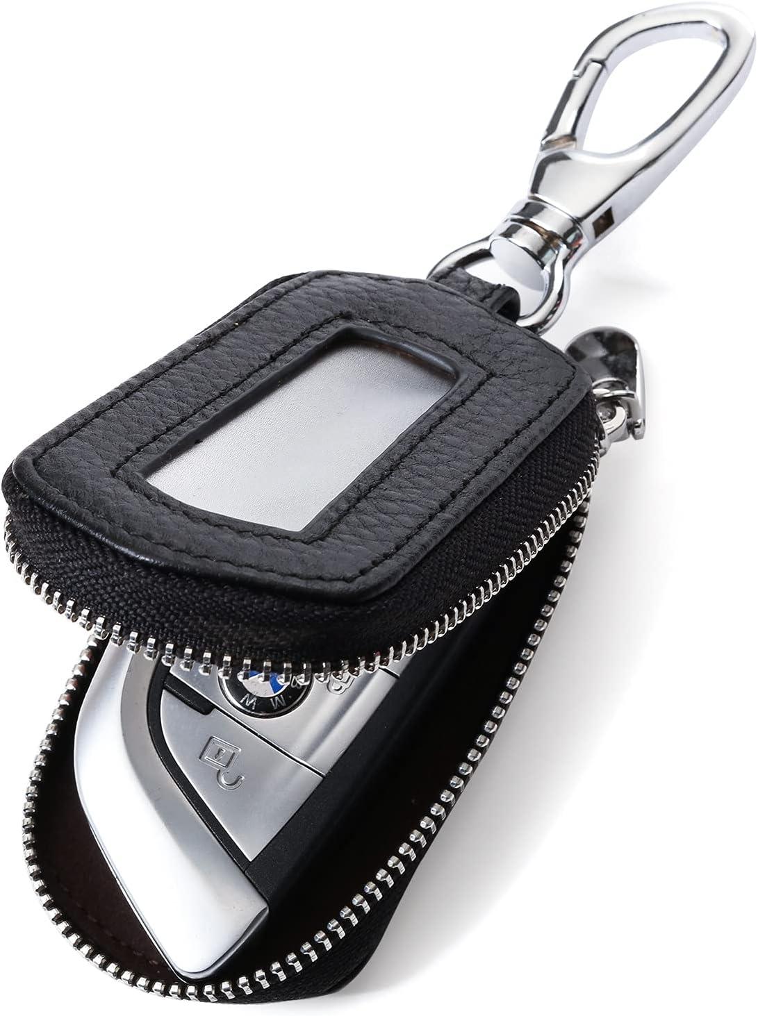VSLIH Universal Vehicle Car Max 52% OFF Key case Genuine Smart Direct sale of manufacturer Leather K