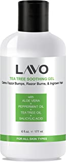 LAVO Tea Tree Gel w/Salicylic Acid - BEST Ingrown Hair
