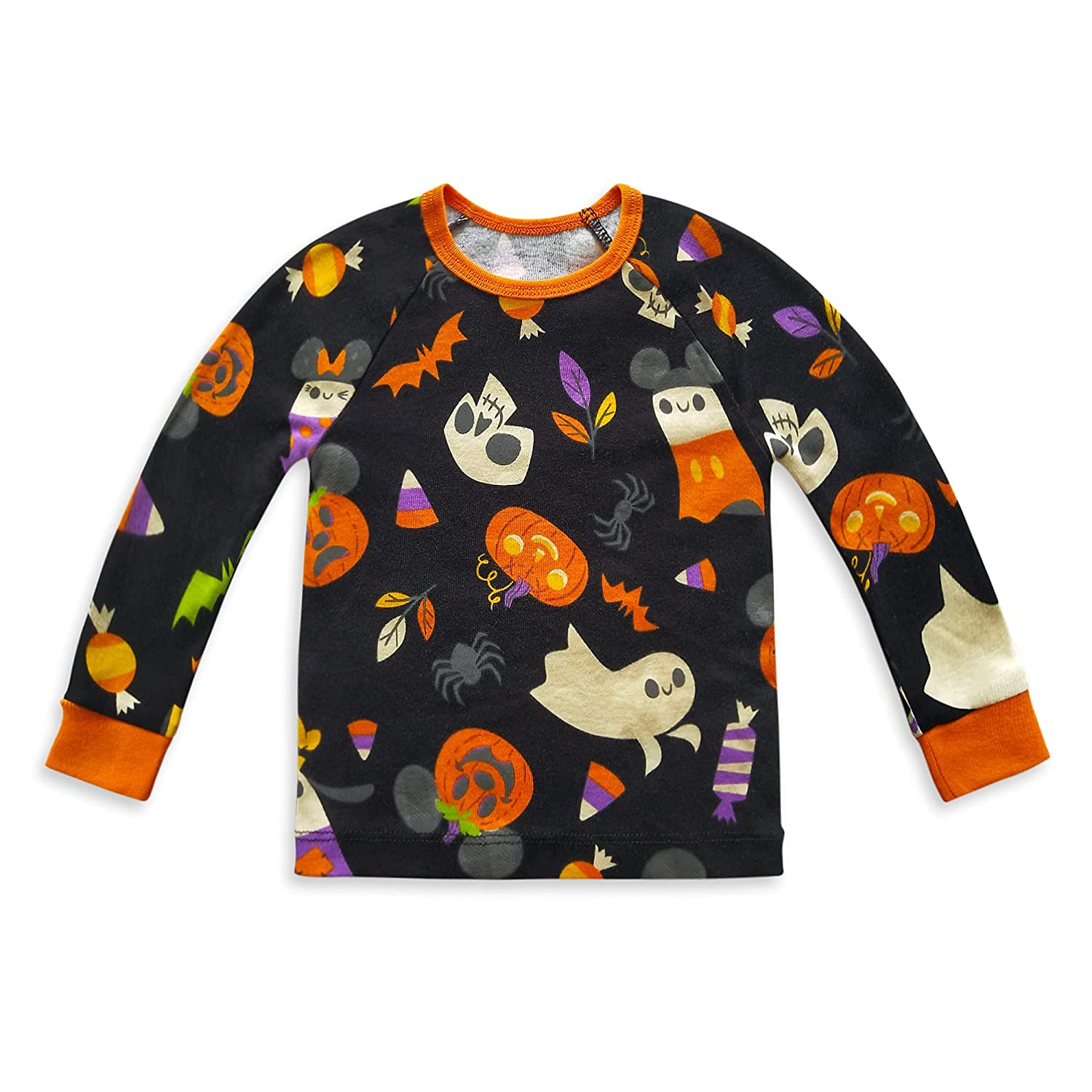 Disney Mickey Mouse Pumpkin Halloween PJ PALS for Baby, Size 0-3 Months