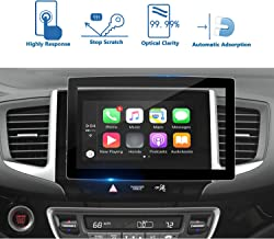 LFOTPP Pilot 8-Inch 2016-2018 Car Navigation Screen Protector Tempered Glass 9H Hardness Audio Infotainment Display Center Touch Protective Film Scratch-Resistant