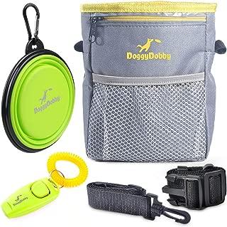 black dog training pouch