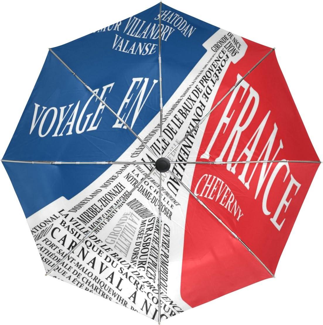 baihuishop Tower Windproof Umbrellas Auto 3 Open Close Los Angeles Mall Ranking TOP9 G Folding