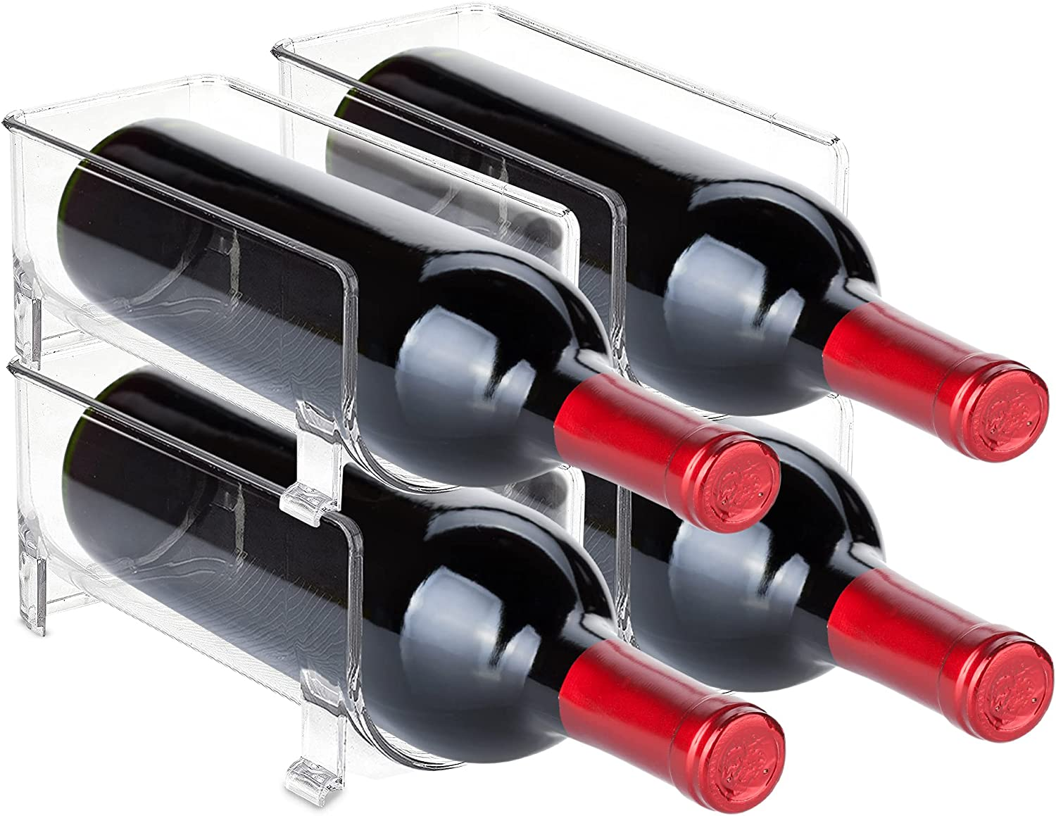 Max 45% OFF Trovety Wine Rack Holder - Cabinet Fridge and Organizers SEAL limited product Stora