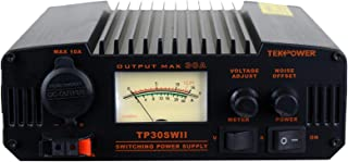 TekPower TP30SWII 30 Amp DC 13.8V Analog Switching Power Supply with Noise Offset
