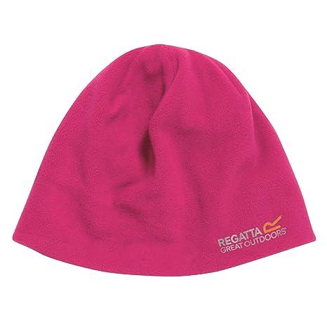 Pink Regatta Kids/' Animally III Knitted Beanie Hat
