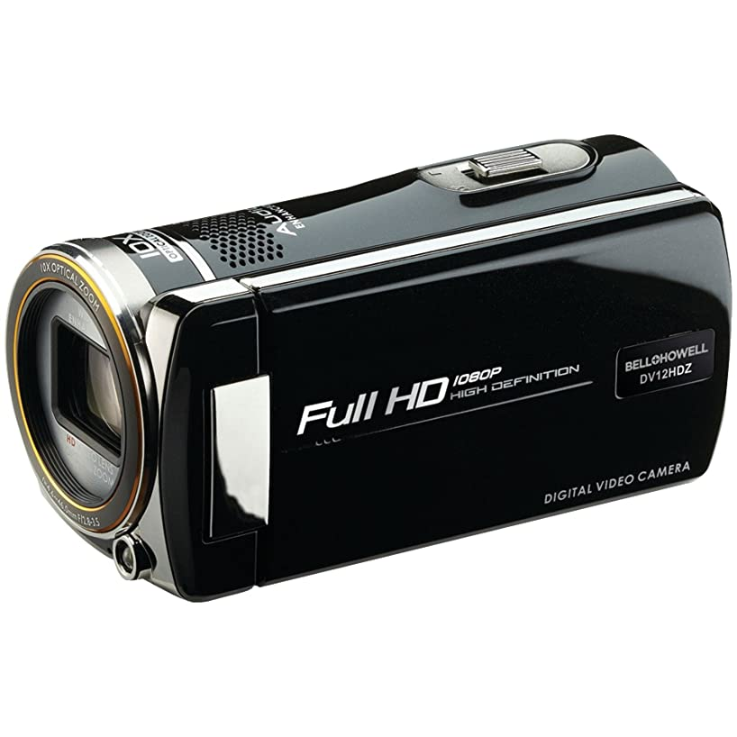 Bell+Howell Cinema DV12HDZ-BK 1080p Full HD Video Camcorder with 10x Optical Zoom and 3-Inch LCD (Black)