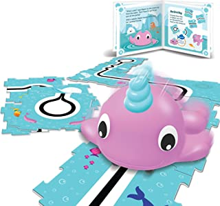 Learning Resources LER3099 Coding Critters Go-Pets Black Line Narwhal,Multi