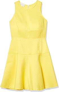 Donna Morgan Women's CF Zip Fit and Flare Dress