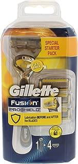 Gillette Fusion Proshield Specisl Starter Pack 1 4 Cartridges