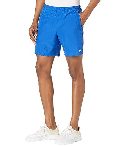 Nike Dri-FIT Challenger Shorts 7 Brief (Game Royal/Reflective Silver) Men