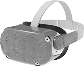 AMVR, custodia protettiva per cuffie VR per Oculus Quest 2, leggera e resistente, per evitare collisioni e graffi (nero)