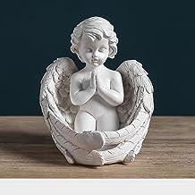 Sculptuur Standbeeld - Creatieve Hars Engel Meisje Standbeeld Nordic Sprookje Tuin Moderne Hars Standbeeld Voor Indoor Hom...