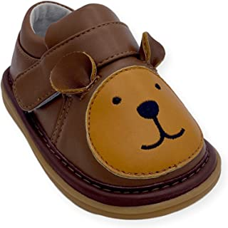 Wee Squeak Animal Toddler Squeaky Shoes with Removable Squeaker