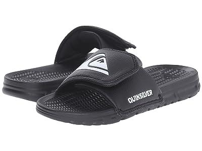 Quiksilver Kids Shoreline Adjust (Toddler/Little Kid/Big Kid) (Black/Black/White) Boys Shoes