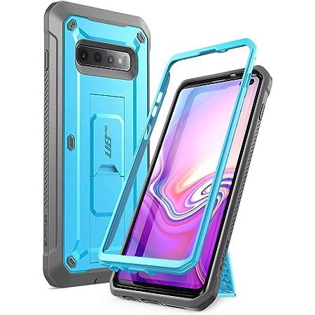Supcase Samsung Galaxy S10 Plus Case Dual Layer Heavy Duty Kickstand Case Cover For Samsung Galaxy S10 Plus 2019 Release Unicorn Beetle Pro Series Blue Elektronik