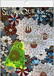 Suzn Quilts Patterns SQP216 Suzn Quilts Tiny Dresden Template