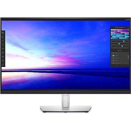 Dell P3221D 32 Inch 1440p QHD, IPS Ultra-Thin Bezel Monitor, HDMI, DisplayPort, USB-C, VESA Certified, Black