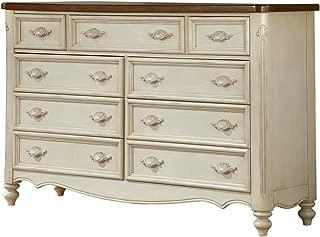 Chateau Triple 9 Drawer Dresser