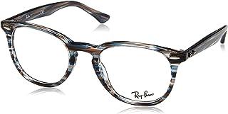 653a151e9b Ray-Ban rx7159 lunettes en gris bleu rayé RX7159 5750 50