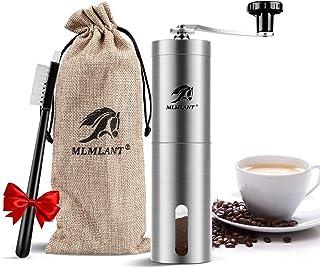 MLMLANT Molinillo de café Manual, Molinillo de Granos de