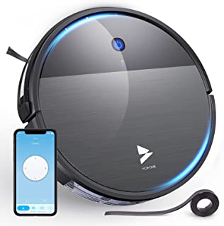 Hosome Robot Vacuum Cleaner Sweep and Mop Cleaning 1900Pa, Super-Thin Wi-Fi Robotic Vacuum Cleaner, Suction Quiet, Boundar...