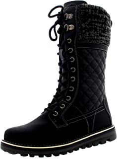 Polar Womens Winter Thermal Snow Outdoor Warm Mid Calf Waterproof Durable Boot