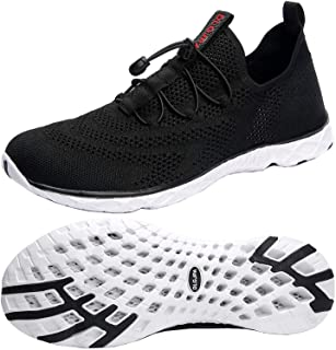Women's Quick Drying Water Shoes for Beach or Water Sports Lightweight Slip On Walking Shoes