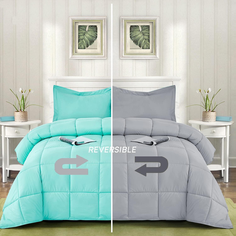 Bedream 3-Piece Down Alternative List price Comforter Set Quilted B High quality Design