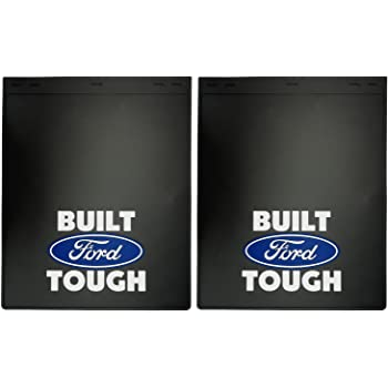 Ford Blue Oval Easy Fit Mud Guard Set of 2