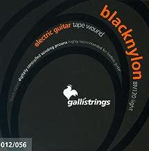 CUERDAS GUITARRA ELECTRICA - Galli (BN120) Black Nylon Light (Juego Completo 012/056E)
