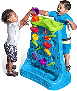 Step2 Waterfall Discovery Wall Playset (Deluxe Pack: Includes 13pc Accessory Set)