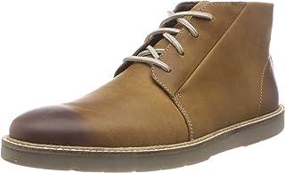 Clarks 男士 Grandin 中号Chukka 靴子