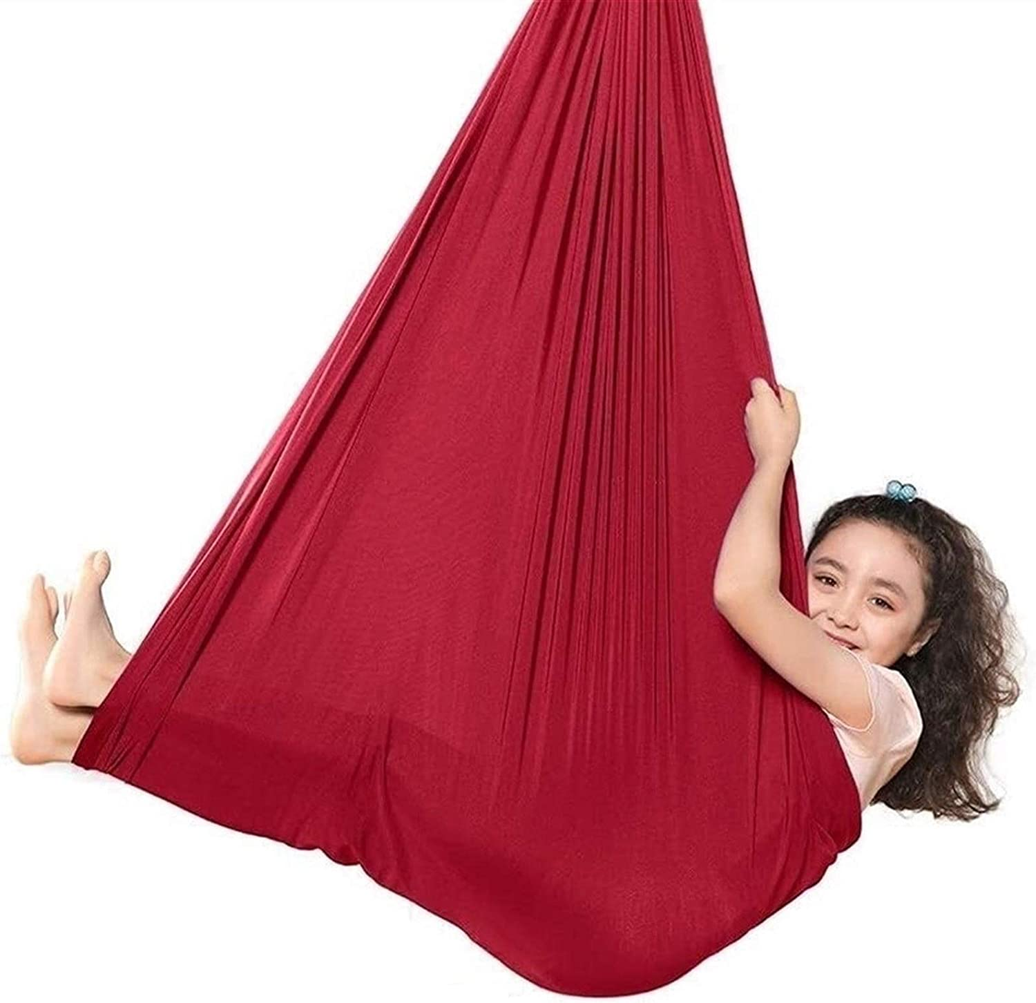 LICHUXIN Sensory Nylon Swing for P Product Soothing Hammock Kids Discount is also underway