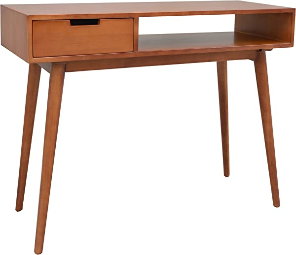 Porthos Home Aceline Mid Century Console Table Natural