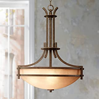 Oak Valley Collection Scavo Glass 5-Light Pendant Chandelier - Franklin Iron Works