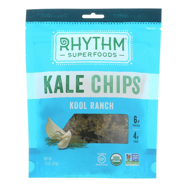 Rhythm Superfoods Organic Kool Ranch Kale Arlington Mall Mesa Mall pe - Chips 2 Ounce 12