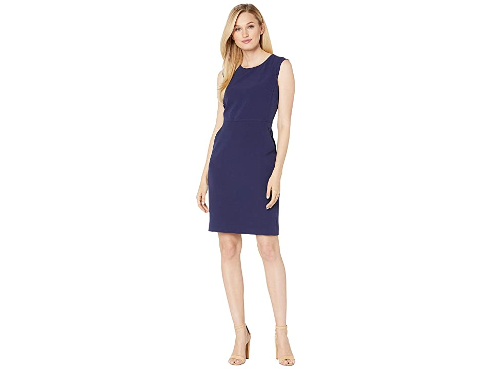 Anne Klein Extended Shoulder Dress (Distant Mountain) Women