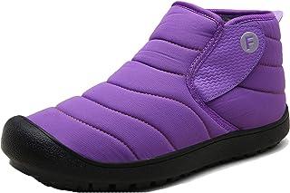 LangfengEU Couple Bottes de Neige Hiver Chaud en Peluche en Plein air Haut Haut Chaussures de Marche décontractées pour Ho...