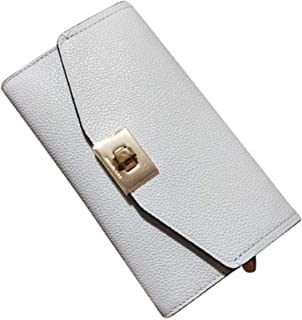 Michael Kors Cassie Large Trifold Wallet Vanilla Leather