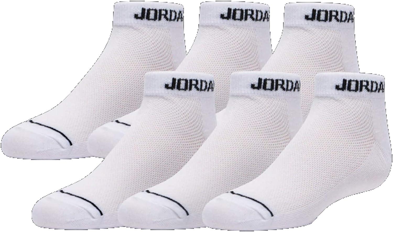 Jordan Jumpman No-Show 6 Pack Socks - Boys' Size 5Y-7Y/9-11 (Sock Size)