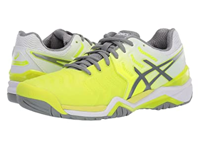 ASICS Gel-Resolution 7 (Safety Yellow/Stone Grey) Women