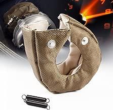 Turbo Blanket Heat Shield Turbocharger Cover Wrap Blanket For T3 T25 T28 GT25 GT28 GT30 GT32 GT35 GT37 CT26 (Titanium)