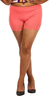 Fit 'N' You Ladies Cotton Embroidered Shorts
