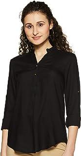 Styleville.in Women's Plain Regular Fit Top